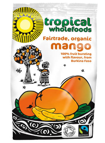 Tropical Wholefoods Dried Mango