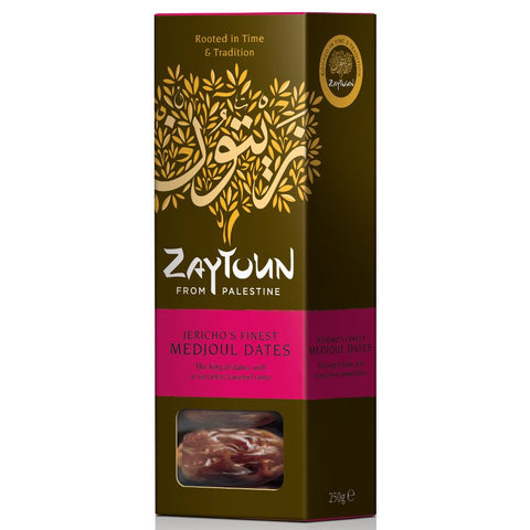 Zaytoun Palestinian Medjoul Dates - Roots Fruits & Flowers Glasgow