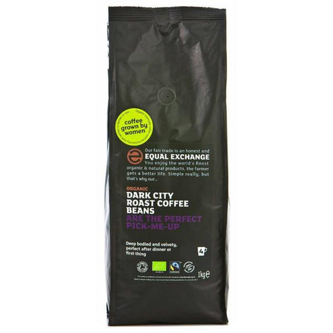 Equal Exchange Dark City Roast 1kg