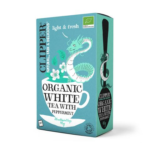 Clipper Organic White Tea with Peppermint