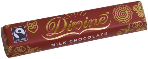 Divine Fairtrade Milk Chocolate 35g