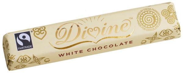 Divine Fairtrade White Chocolate 35g
