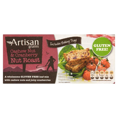 Artisan Grains Cashew Nut & Cranberry Nut Roast