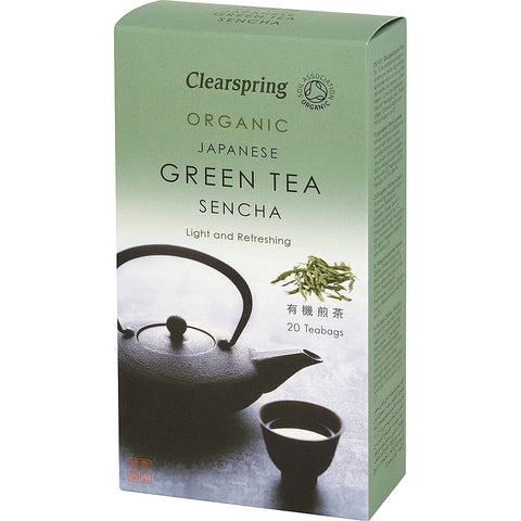Clearspring Organic Sencha Green Tea - Roots Fruits & Flowers Glasgow