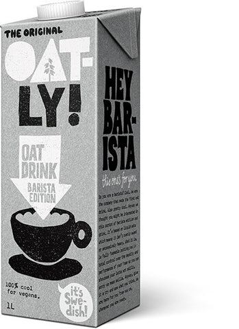 Oatly Barista Edition