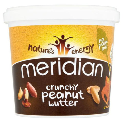 Meridian Crunchy Peanut Butter Unsalted 1kg (20% OFF)