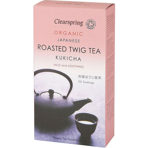 Clearspring Organic Japanese Kukicha Tea - Roots Fruits & Flowers Glasgow - 1