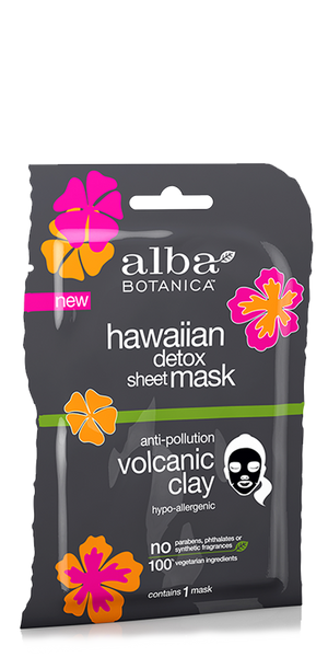 Alba Botanic Hawaiian Detox Sheet Mask