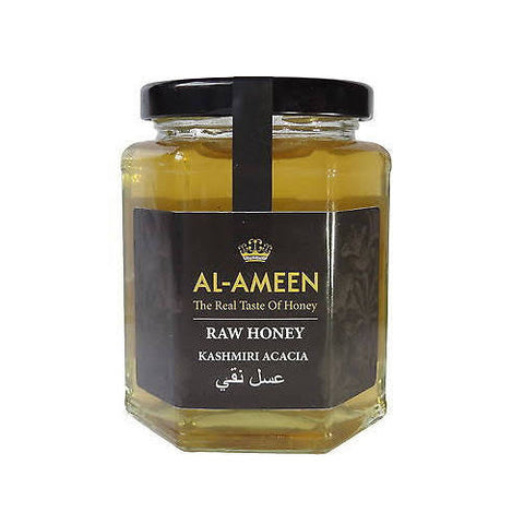 Al-Ameen Raw Honey Kashmiri Acacia - Roots Fruits & Flowers Glasgow