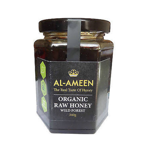 Al-Ameen Raw Wild Desert Honey - Roots Fruits & Flowers Glasgow