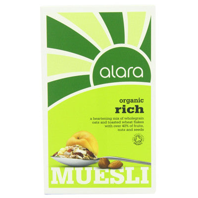 Alara Organic Rich Muesli - Roots Fruits & Flowers Glasgow
