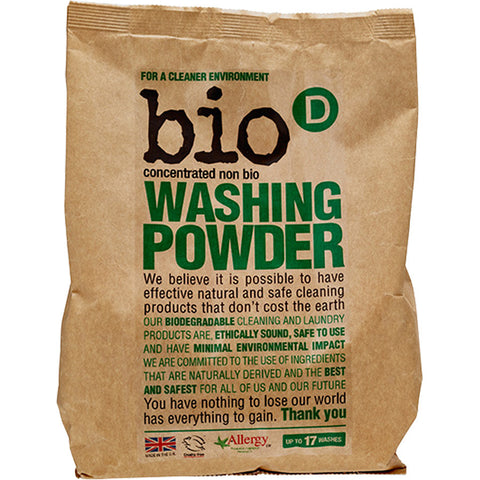 Bio-D Washing Powder - Roots Fruits & Flowers Glasgow