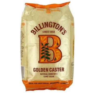 Billington's Golden Caster Sugar 1kg - Roots Fruits & Flowers Glasgow