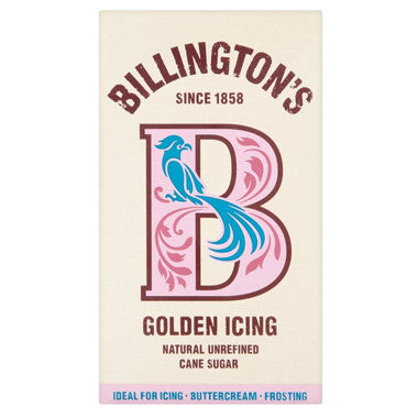 Billington's Golden Icing Sugar - Roots Fruits & Flowers Glasgow