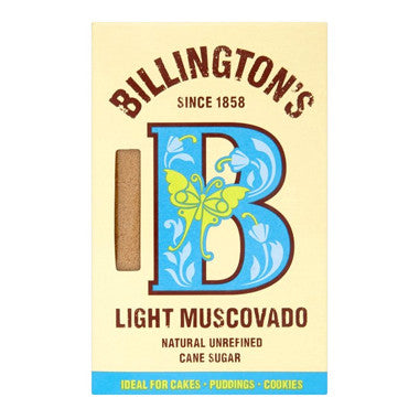 Billington's Light Muscovado Sugar 500g - Roots Fruits & Flowers Glasgow