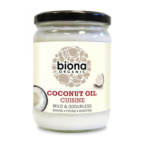Biona Mild Coconut Oil Cuisine - Roots Fruits & Flowers Glasgow