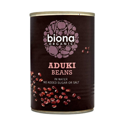 Biona Organic Aduki Beans - Roots Fruits & Flowers Glasgow