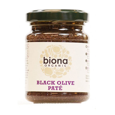 Biona Organic Black Olive Paté - Roots Fruits & Flowers Glasgow