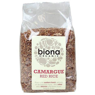 Biona Organic Camargue Red Rice - Roots Fruits & Flowers Glasgow