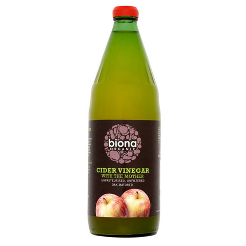 Biona Organic Cider Vinegar - Roots Fruits & Flowers Glasgow