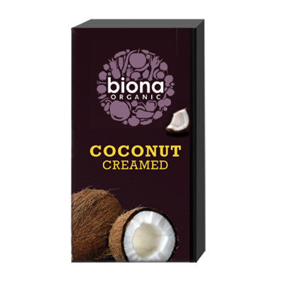 Biona Organic Coconut Creamed - Roots Fruits & Flowers Glasgow