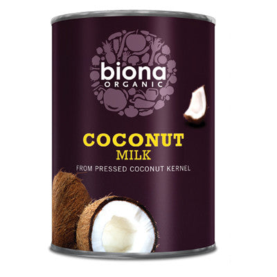 Biona Organic Coconut Milk - Roots Fruits & Flowers Glasgow