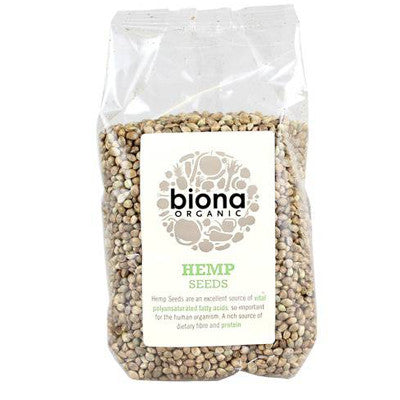 Biona Organic Hemp Seeds - Roots Fruits & Flowers Glasgow