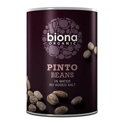 Biona Organic Pinto Beans - Roots Fruits & Flowers Glasgow