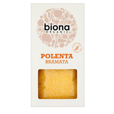 Biona Organic Polenta Bramata - Roots Fruits & Flowers Glasgow