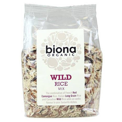 Biona Organic Wild Rice Mix - Roots Fruits & Flowers Glasgow