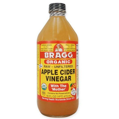 Bragg Organic Raw Apple Cider Vinegar - Roots Fruits & Flowers Glasgow