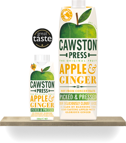 Cawston Press Apple & Ginger - Roots Fruits & Flowers Glasgow