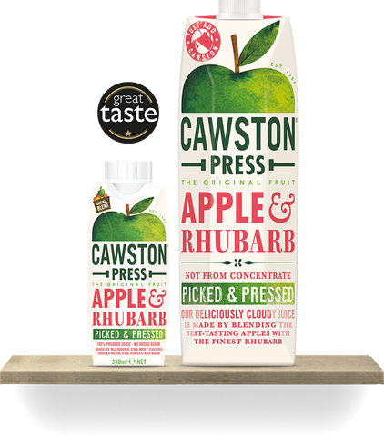 Cawston Press Apple & Rhubarb - Roots Fruits & Flowers Glasgow