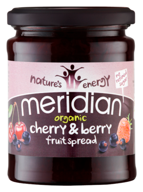 Meridian Organic Cherry & Berry Fruit Spread