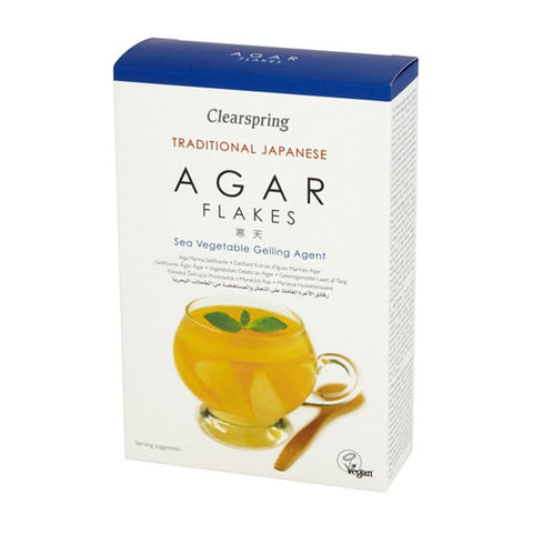 Clearspring Agar Flakes - Roots Fruits & Flowers Glasgow