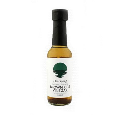 Clearspring Organic Brown Rice Vinegar - Roots Fruits & Flowers Glasgow