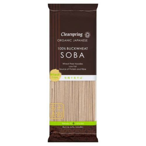 Clearspring Organic Buckwheat Soba - Roots Fruits & Flowers Glasgow