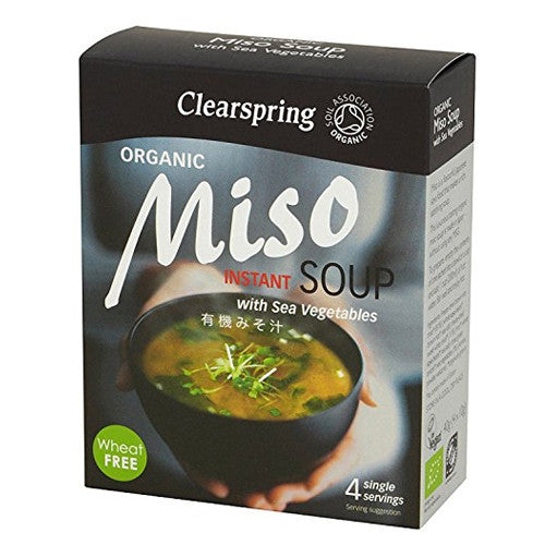 Clearspring Organic Miso Soup - Roots Fruits & Flowers Glasgow