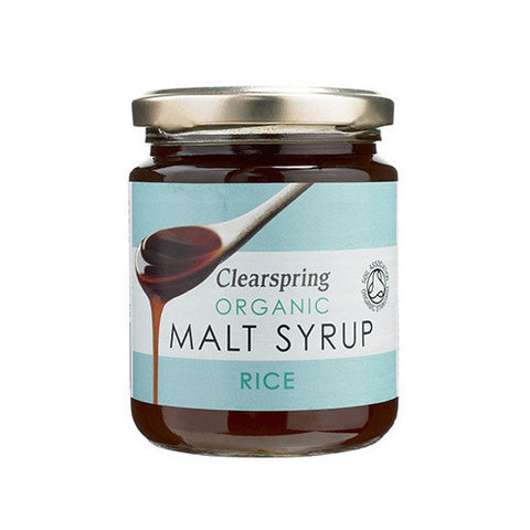 Clearspring Organic Rice Malt Syrup - Roots Fruits & Flowers Glasgow