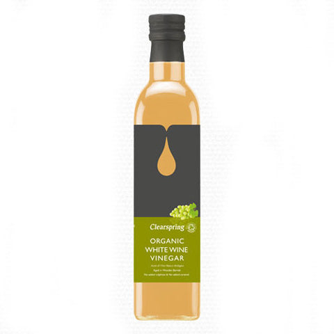 Clearspring Organic White Wine Vinegar - Roots Fruits & Flowers Glasgow
