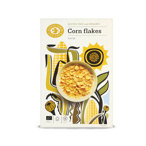 Doves Farm Organic Corn Flakes - Roots Fruits & Flowers Glasgow