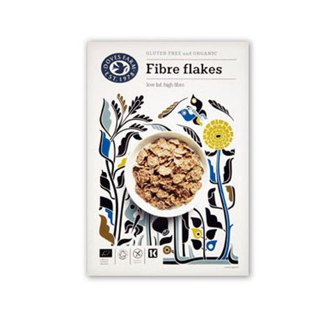 Doves Farm Organic Fibre Flakes - Roots Fruits & Flowers Glasgow