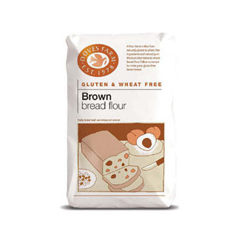 Doves Gluten Free Brown Bread Flour - Roots Fruits & Flowers Glasgow