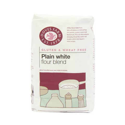 Doves Gluten Free Plain White Flour - Roots Fruits & Flowers Glasgow