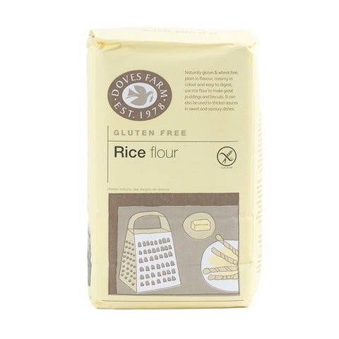 Doves Gluten Free Rice Flour - Roots Fruits & Flowers Glasgow