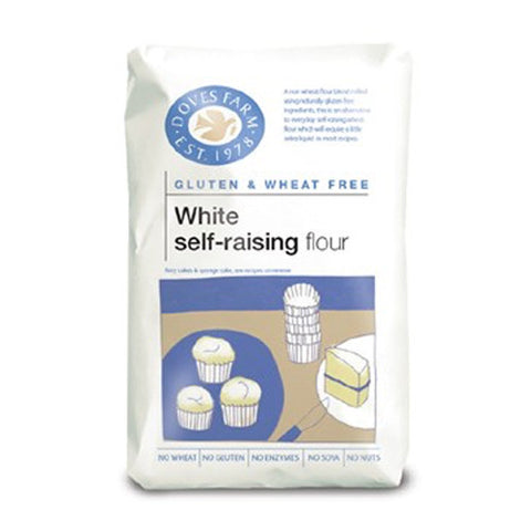 Doves Gluten Free Self Raising White Flour - Roots Fruits & Flowers Glasgow