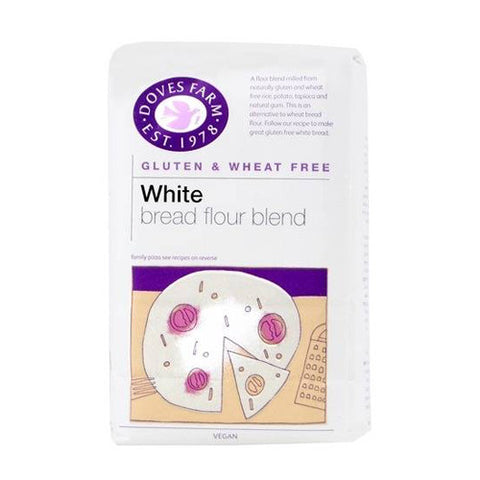 Doves Gluten Free White Bread Flour - Roots Fruits & Flowers Glasgow