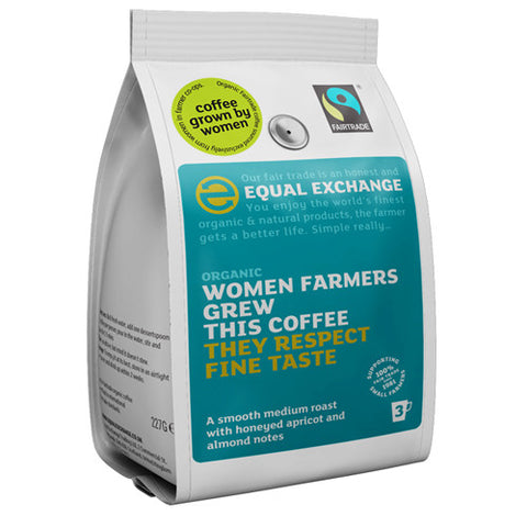Equal Exchange Women Farmers Roast & Ground Coffee - Roots Fruits & Flowers Glasgow