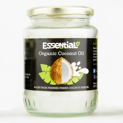 Essential Organic Coconut Oil - Roots Fruits & Flowers Glasgow