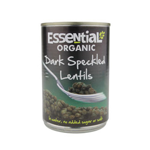 Essential Organic Dark Speckled Lentils - Roots Fruits & Flowers Glasgow